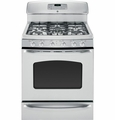 JGB840SETSS GE Free Standing Gas Range with Baking Drawer - Stainless Steel