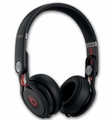 BTONMIXRBLK Beats by Dr. Dre Mixr On-Ear Headphones with Incredible Durability - Black