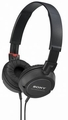 MDR-ZX100/BLK Sony Outdoor Monitor Stereo Headphones - Black