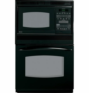 "PT970DRBB GE Profile 30"" Built-In Double Microwave/Convection Oven - Black"