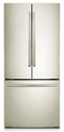 RF221NCTASP Samsung 22 cu. ft. 30-Inch French Door with Internal Filter Water Dispenser - Stainless Platinum