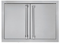 "AD52820SS Viking Outdoor 28"" Double Access Doors - Stainless Steel"