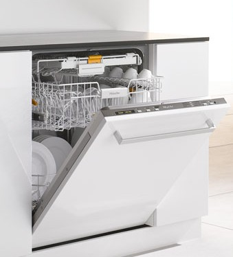 G5675SCVI Miele Futura Dimension Fully Integrated Dishwasher with Cutlery Tray - Custom Panel