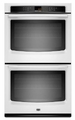 MEW7630AW Maytag 30-inch Electric Double Wall Oven with Precision Cooking System - White