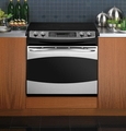 "PD968SPSS GE Profile 30"" Drop-In Electric Convection Range - Stainless Steel"