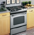 "JSP39SNSS GE 30"" Slide-In Electric Range with Self-Cleaning Oven - Stainless Steel"