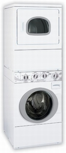 ATE50 Speed Queen Energy Star Front Load Stacked Washer/ Electric Dryer Unit - White