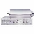 "BGB48-BQRN DCS 48"" Outdoor Professional Grill - Natural Gas - Stainless Steel"