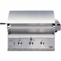 "BGB30-BQRN DCS 30"" Outdoor Professional Grill - Natural Gas - Stainless Steel"