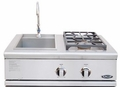"BFG-30BS-N DCS 30"" Liberty Outdoor Grill Side Burner & Sink Unit - Natural Gas - Stainless Steel"