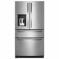 WRX735SDBM Whirlpool 25 cu. ft. French Door Refrigerator with Refrigerated Drawer - Monochromatic Stainless Steel