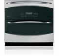 "PT925SNSS GE Profile 30"" Built-In Single/Double Convection Wall Oven - Stainless Steel"