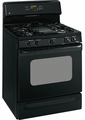 GE Freestanding Gas Ranges BLACK