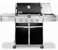 7121001 Weber Summit E-420 Outdoor Gas Grill - Liquid Propane - Black