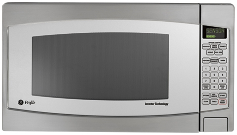 Countertop Microwave Pros And Cons : ... GE Profile 2.2 Cu. Ft. Capacity Countertop Microwave - Stainless Steel