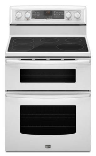 gemini double oven freestanding electric range white reviews