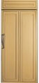 "ZIR360NXRH GE Monogram Energy Star 36"" Built-In All Refrigerator - Right Hinged - Custom Panel"