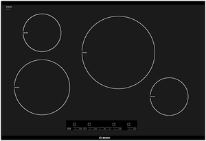 "NIT3065UC Bosch 30"" Induction Cooktop with Touch Control - Black"