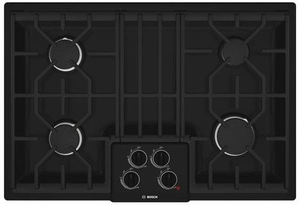 "NGM5064UC Bosch 500 Series 30"" Gas Cooktop - Black"
