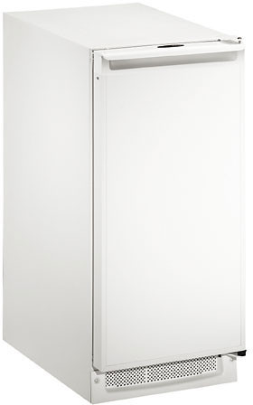 BI2115W-00 U-Line 2000 Series Undercounter Ice Maker - White - Field Reversible