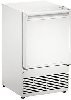 BI95W U-Line 1000 Series Undercounter Built-In Ice Maker - White - Field Reversible