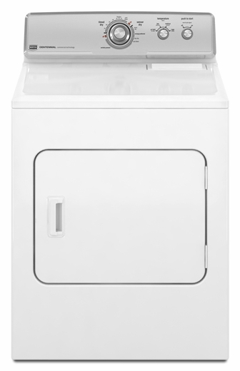 MGDC300XW Maytag Centennial Gas Dryer with IntelliDry Moisture Sensor - White
