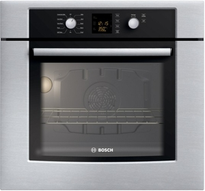 "HBN3450UC Bosch 27"" Single Convection Wall Oven 300 Series - Stainless Steel"