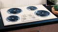 "JP328CKCC GE 30"" Built-In Electric Cooktop - True Bisque"