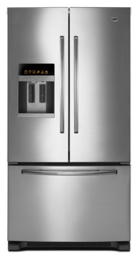 MFI2665XEM Maytag 26 Cu. Ft. Ice2O EcoConserve French Door Refrigerator - Monochromatic Stainless Steel