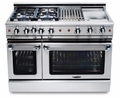 "GSCR484WN Capital 48"" Precision Pro Style Gas Convection Range 4 Burners & Power Wok - Natural Gas - Stainless Steel"