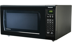 Countertop Oven Full Size : ... Panasonic Full-Size 1.6 cu. ft. Countertop Microwave Oven - Black