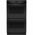 "PT7550DFBB GE Profile Series 30"" Built-In Double Convection Wall Oven - Black"