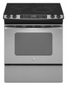GY399LXUS  Whirlpool Gold 30-Inch Slide-In Electric Ceramic Glass Range with Convection Oven - Stainless Steel