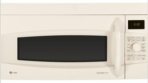 PVM1790DRCC GE Profile 1.7 Cu. Ft. Convection Over-the-Range Microwave Oven - Bisque