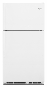 WRT138TFYW Whirlpool 18 cu. ft. Top-Freezer Refrigerator with Humidity-Controlled Crisper Bins - White