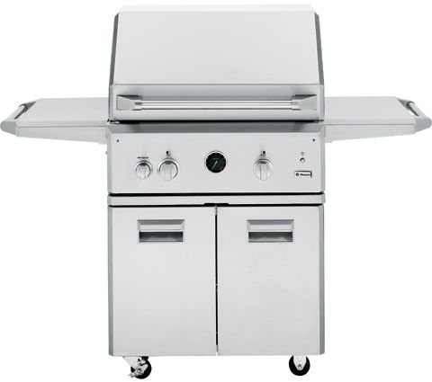 "ZGG300NCPSS GE Monogram 30"" Freestanding Outdoor Grill - Natural Gas - Stainless Steel"