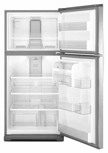 WRT359SFYM Whirlpool 18.5 Cu. Ft. Top Mount Refrigerator - Monochromatic Stainless Steel