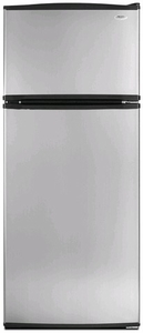 W8RXNGMBD Whirlpool 17.5 Cu. Ft. Top Mount Refrigerator with Humidity Control Crispers - Universal Silver