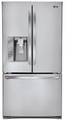 LFX31935ST LG Super Capacity 3 French Door Refrigerator with Blast Chiller - Stainless Steel