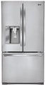 LFX31925ST LG 31 cu. ft. Super Capacity French Door Refrigerator - Stainless Steel