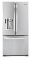 LFX25978ST LG 24.9 Cu. Ft. French Door Refrigerator with Ice/Water Dispenser - Stainless Steel