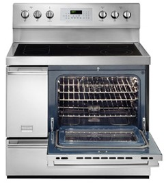 "FPEF4085KF Frigidaire Professional 40"" Freestanding Electric Range - Smudge-Proof Stainless Steel"