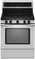 Whirlpool Gas Ranges STAINLESS STEEL