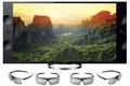 "XBR-65X900A Sony 65"" 3D Ultra High Definition 4k HDTV with XReality Pro, Built-in Wi-Fi & (4) Pairs of 3D Glasses"