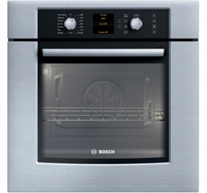 "HBN5450UC Bosch 27"" Single Euro Convection Wall Oven 500 Series - Stainless Steel"