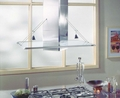 IS502SS Best Island Hood 40 Inch - Glass & Stainless Steel