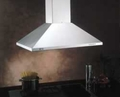 IS23SS Best Chimney Style Island  Hood 36 Inch - Stainless Steel