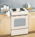 "JSP39DNCC GE 30"" Slide-In Electric Range with Self-Cleaning Oven - Bisque"