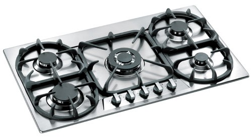 "P36500X Bertazzoni Modular 36"" Gas Cooktop with Five Burners - Stainless Steel"