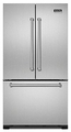 "VCFF236SS Viking Professional Series 36"" French-Door Bottom-Mount Refrigerator/Freezer - Stainless Steel"